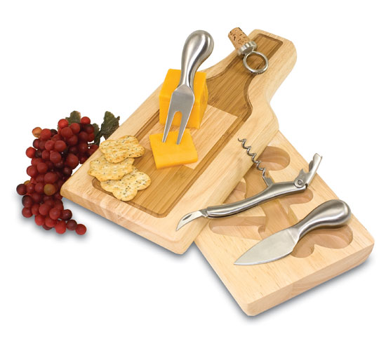 Chianti Cheese Board and Utensils