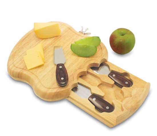 Manzana Cheese Board and Utensils
