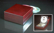 Rosewood CD/DVD Case
