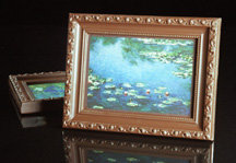 Chocolate Monet Water Lilies