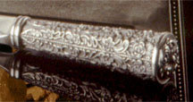 Victoria and Albert Pewter Letter Opener