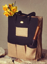 Felt and Jute Tote Bag