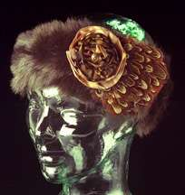Bronze Victorian Ear Cozy