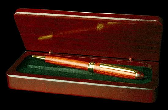 Rosewood Pen & Box