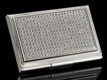 Jeweled Diva Business Card Holder