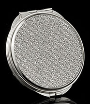 Jeweled Diva Mirror Compact