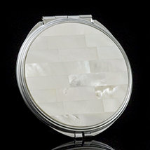 Mother of Pearl Mirror Compact