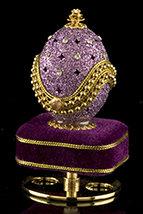 Lavender Fantasy Musical Egg
