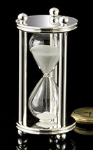 Silver Sand Timer