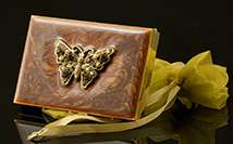 Jeweled Butterfly Calculator/Card Holder