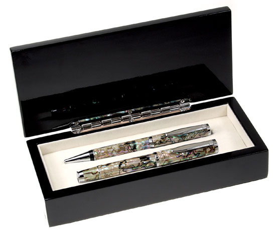 Abalone Mother Of Pearl Pen Set
