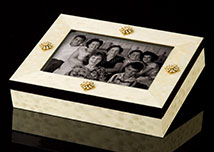 Jeweled Treasures Photo Box