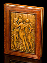 Three Graces Italian Leather Album