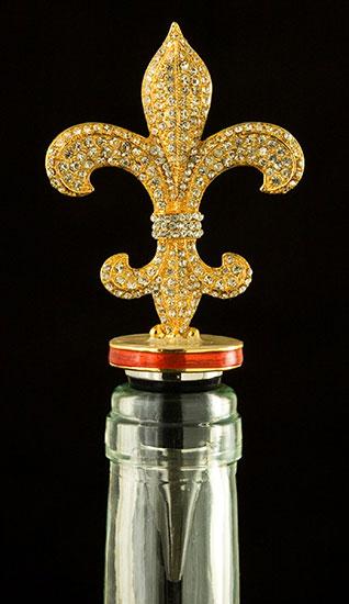 Fleur De Lis Bottle Topper