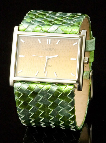 Green Weave Watch