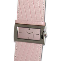 Pink Alligator Watch