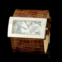 Chocolate Lakeside Cuff Watch