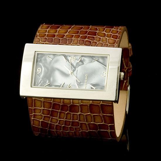 Chocolate Lakeside Cuff Watch