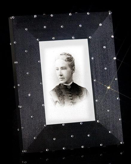 Jeweled Tuxedo Frame