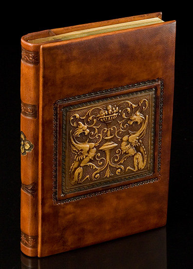 Italian Leather Renaissance Dragons Journal