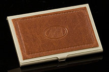 Saddle Brown Excelsior Card Case