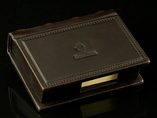 Leather Desk Box