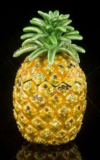Jeweled Pineapple Box