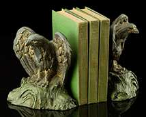 Eagle Bookends