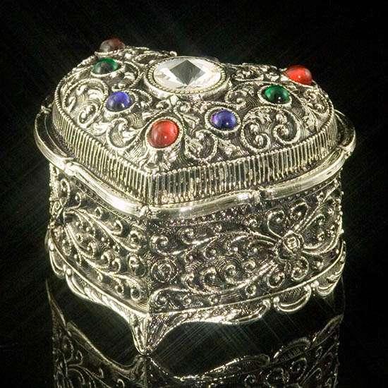 Crystal Kaleidoscope Heart-Shaped Music Box - My Heart Will Go On