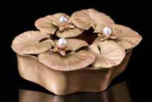 Water Lily Decorative Box