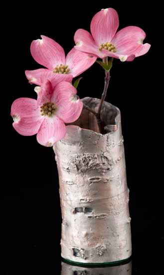Birch Bark Vase/Pen Holder