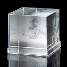 Crystal Photo Cube