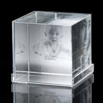 Crystal Photo Cube