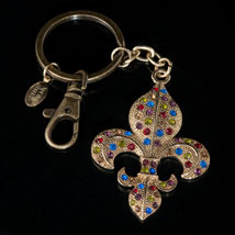 French Quarter Key Chain