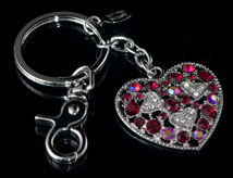 Heart to Heart Key Chain
