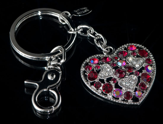 Heart to Heart Key Chain