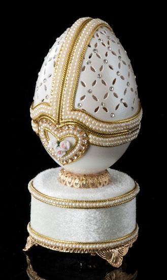 Forever Promises Jeweled Egg
