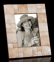 Shimmering Mother of Pearl Frame