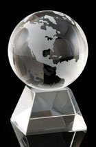 Global Peak Crystal Globe
