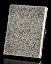 Silver Fantasia Oversize Card Case