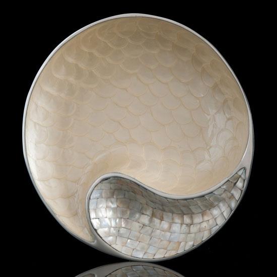 Yin Yang Serving Bowl