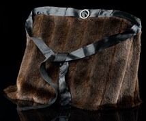 Faux Mink Hostess Apron