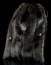 Faux Fur Shoe Bag