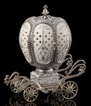 Silver Wedding March Musical Egg