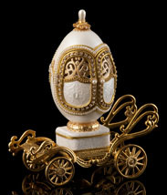 I Will Always Love You Golden Carriage Musical Egg