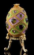 Bejeweled Hearts Egg
