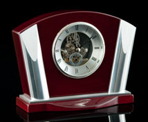 Wilshire Deco Desk Clock