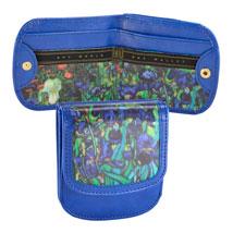 Van Gogh Iris Taxi Wallet