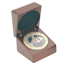 Rosewood World Time Clock