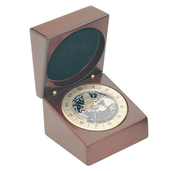Rosewood World Time Clock